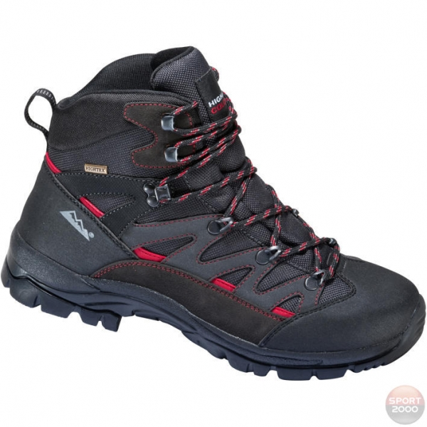 HIGH COLORADO WANDERSCHUH STONE UNI black