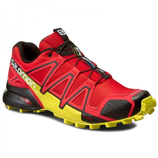 Salomon Speedcross 4 Radiant Red/Black/Corona Yellow