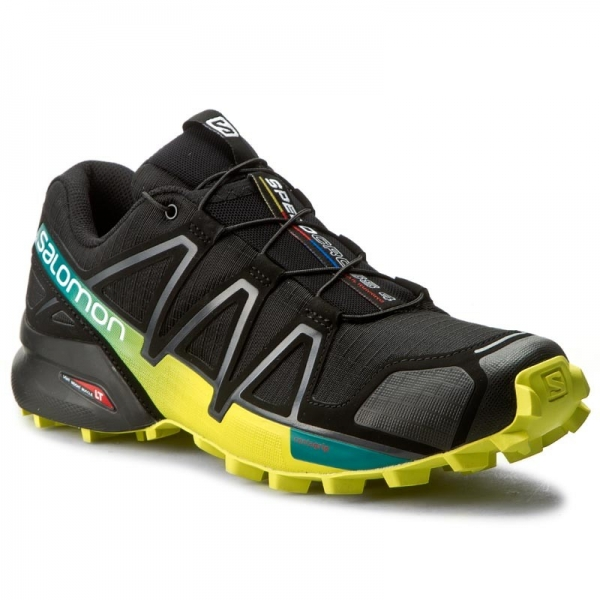 Salomon Speedcross 4 392398 28 V0 Black/Everglade/Sulphur Spring