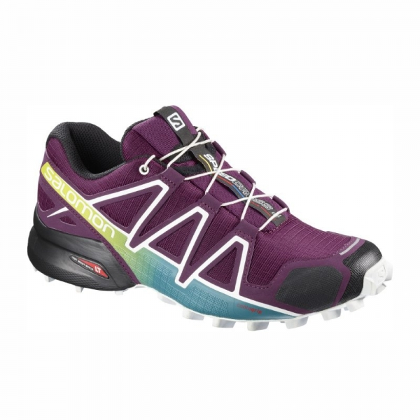 SALOMON SPEEDCROSS 4 W dark purple/wh/deep lake