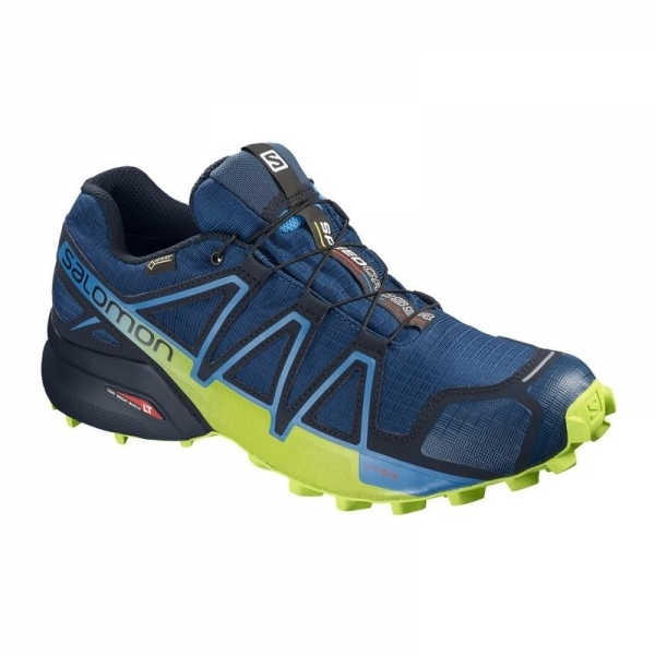 SALOMON SPEEDCROS 4 GTX Poseidon/Navy Blazer/Lime Green