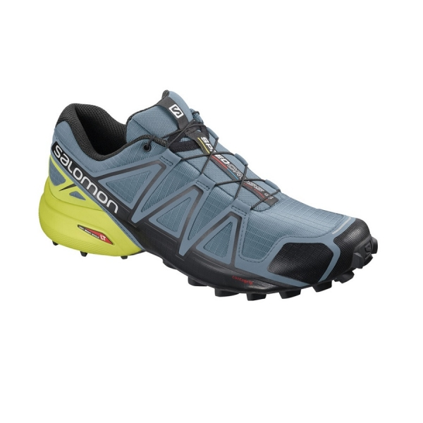SALOMON SPEEDCROSS 4 Bluestone/Black/Sulphur Spring