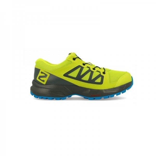 SALOMON XA ELEVATE J acid lime/urban chic/hawaiian surf