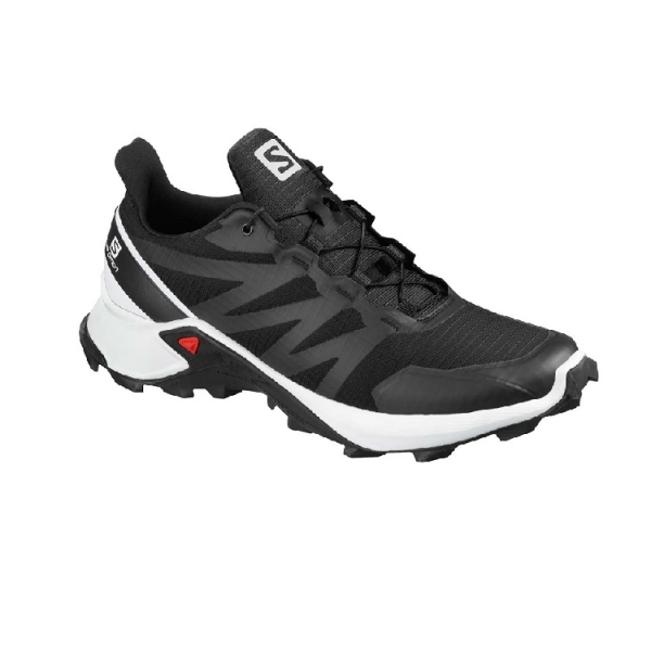 SALOMON SUPERCROSS black/white/black
