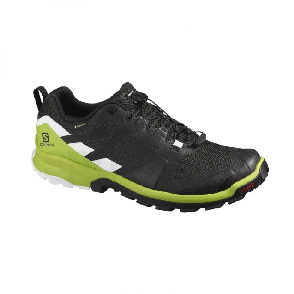 SALOMON XA ROGG GTX M L41121900 - Phantom/Lime green/White