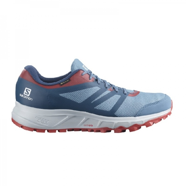 SALOMON TRAILSTER 2 GTX Copen Blue/Gy/Chili